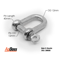 D Shackle 12mm