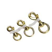Brass Snap Hook - 18mm