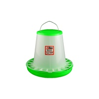 Green Straight Poultry Feeder 8kg