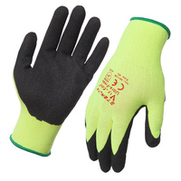 Stealth Viz-Grip Nitrile Coated Gloves - (XL)