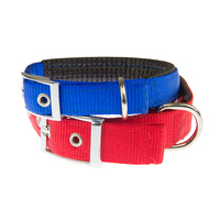"Nylon Padded Dog Collar - 25mmx60cm (24"")"