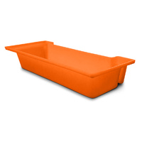 Snack Bar Multi-Purpose Trough, 12 litre  - Orange
