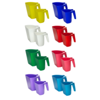 FeedMaxx Scoop 1kg Mixed Colours (Box of 24)