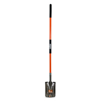 Post Hole Shovel Square Long Fibreglass Handle