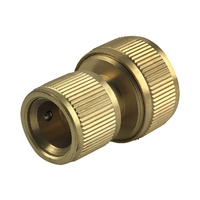 "1/2"" Brass hose connector"
