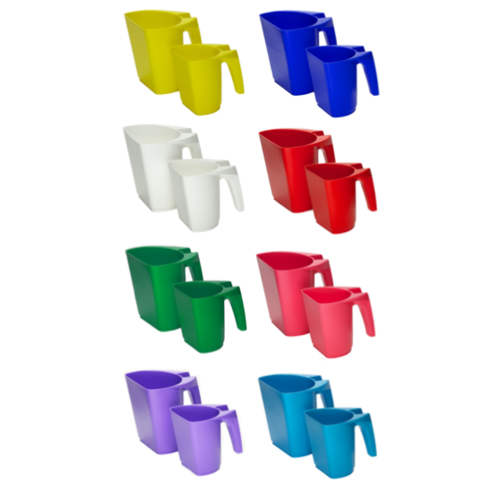 FeedMaxx Scoop .5kg Mixed Colours (Box of 20)