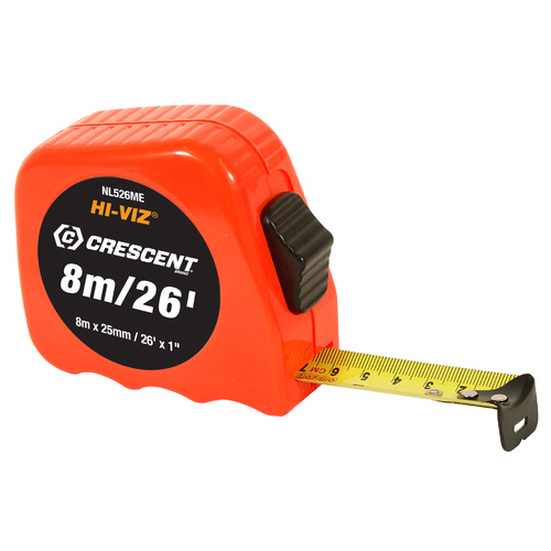 8m/26' x 25mm Measuring Tape