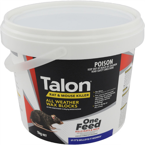Talon Wax Blocks - 1kg